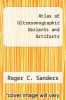 cover of Atlas of Ultrasonographic Variants and Artifacts (2nd edition)