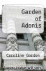 cover of Garden of Adonis