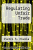 cover of Regulating Unfair Trade