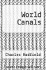 cover of World Canals