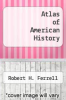 cover of Atlas of American History (4th edition)