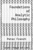 cover of Foundations of Analytic Philosophy