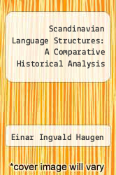 Cover of Scandinavian Language Structures: A Comparative Historical Analysis EDITIONDESC (ISBN 978-0816611072)