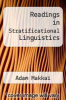 cover of Readings in Stratificational Linguistics