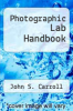 cover of Photographic Lab Handbook (4th edition)