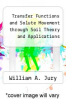 cover of Transfer Functions and Solute Movement through Soil Theory and Applications
