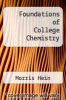 cover of Foundations of College Chemistry (5th edition)