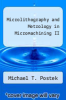 cover of Microlithography and Metrology in Micromachining II