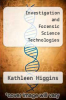 cover of Investigation and Forensic Science Technologies