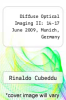 cover of Diffuse Optical Imaging II: 14-17 June 2009, Munich, Germany