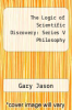 cover of The Logic of Scientific Discovery: Series V Philosophy