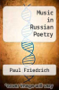 cover of Music in Russian Poetry