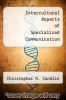cover of Intercultural Aspects of Specialized Communication