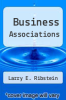 cover of Business Associations (2nd edition)