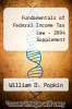 cover of Fundamentals of Federal Income Tax Law - 2004 Supplement
