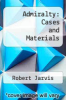 cover of Admiralty: Cases and Materials