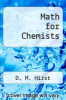 cover of Math for Chemists