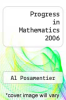 cover of Progress in Mathematics 2006