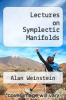 cover of Lectures on Symplectic Manifolds