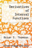 cover of Derivatives of Interval Functions