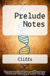 Prelude Notes by Cliffs - ISBN 9780822010753