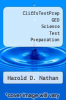 cover of CliffsTestPrep GED Science Test Preparation