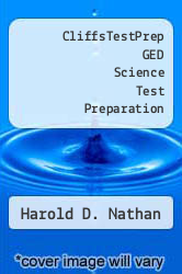 Cover of CliffsTestPrep GED Science Test Preparation EDITIONDESC (ISBN 978-0822020103)