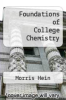 cover of Foundations of College Chemistry (3rd edition)