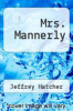 cover of Mrs. Mannerly