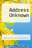 cover of Address Unknown