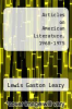 cover of Articles on American Literature, 1968-1975