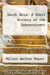 Cover of South Asia: A Short History of the Subcontinent 2 (ISBN 978-0822600343)