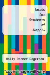 Cover of Words for Students of -Nop/24 EDITIONDESC (ISBN 978-0822982180)