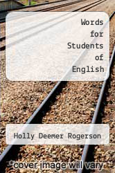 Cover of Words for Students of English EDITIONDESC (ISBN 978-0822982197)
