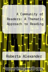 Cover of A Community of Readers: A Thematic Approach to Reading EDITIONDESC (ISBN 978-0823050178)