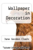 cover of Wallpaper in Decoration
