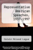 cover of Representative American Speeches, 1937-1997