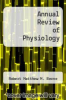 cover of Annual Review of Physiology
