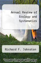 Cover of Annual Review of Ecology and Systematics EDITIONDESC (ISBN 978-0824314088)