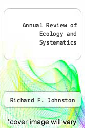 Cover of Annual Review of Ecology and Systematics EDITIONDESC (ISBN 978-0824314156)