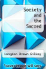 cover of Society and the Sacred