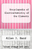 cover of Encyclopedia of Electrochemistry of the Elements