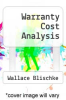 cover of Warranty Cost Analysis
