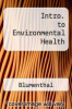 cover of Intro. to Environmental Health