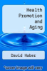 cover of Health Promotion and Aging (1st edition)