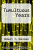 cover of Tumultuous Years