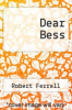 cover of Dear Bess