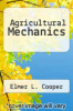 cover of Agricultural Mechanics (3rd edition)