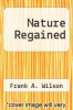 cover of Nature Regained
