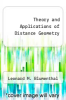 cover of Theory and Applications of Distance Geometry (2nd edition)